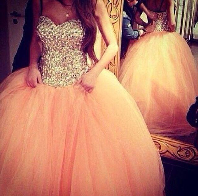 Peach, Princess ball gown!