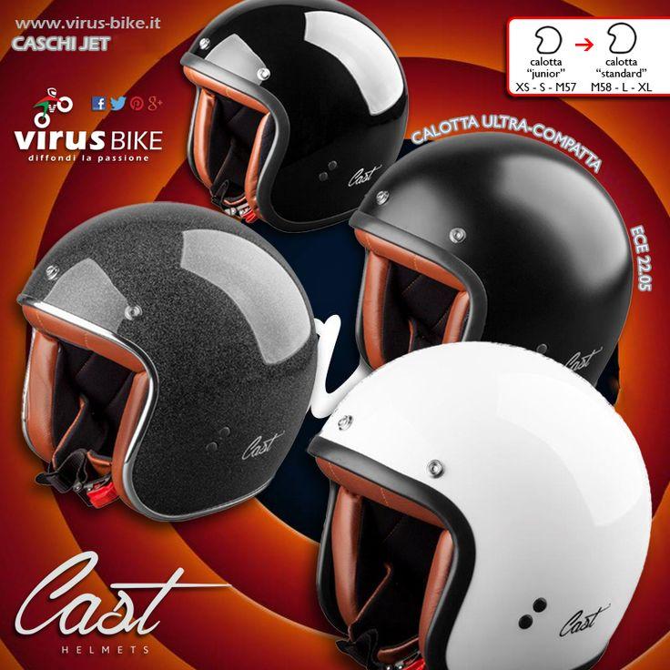 """Il casco Cast T-R è ricercato in tutto il mondo principalmente per la sua estrema compattezza, unita allo stile minimalista e ad una sicurezza da 5 stelle; prodotto da Motosport S.r.L., società del noto gruppo Bell Safety Srl è il """"must"""" del motociclista di strada, casual, amante della sobrietà. #Custom &  #CafeRacer"""