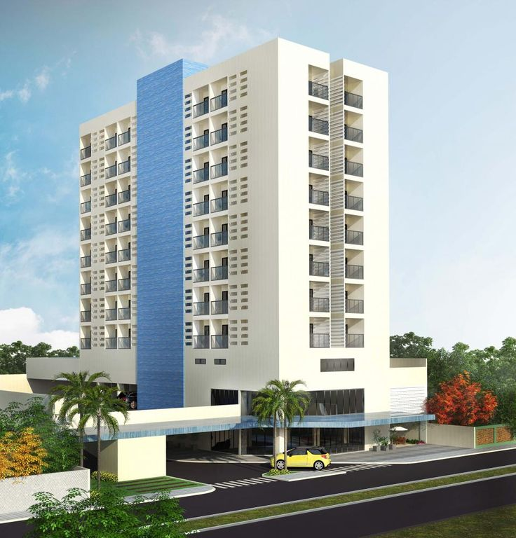 Estudo de um Hotel com restaurante no térreo - Immobile Arquitetura