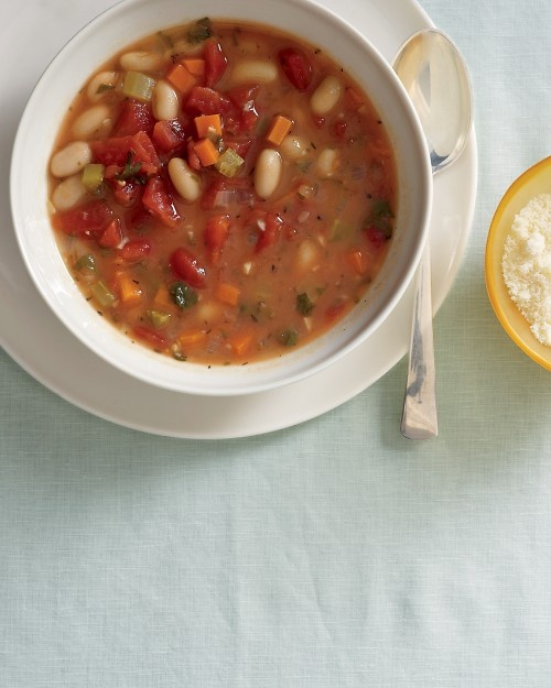 Vegetable-Bean Soup | Recipe | Soups, Martha Stewart Recipes and ...