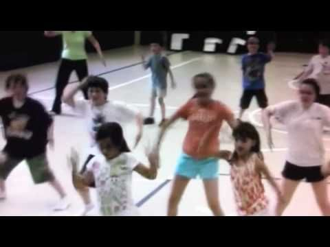 Children's Zumba to the song Waka Waka. Great indoor recess or movement break idea. My kids LOVE this song.