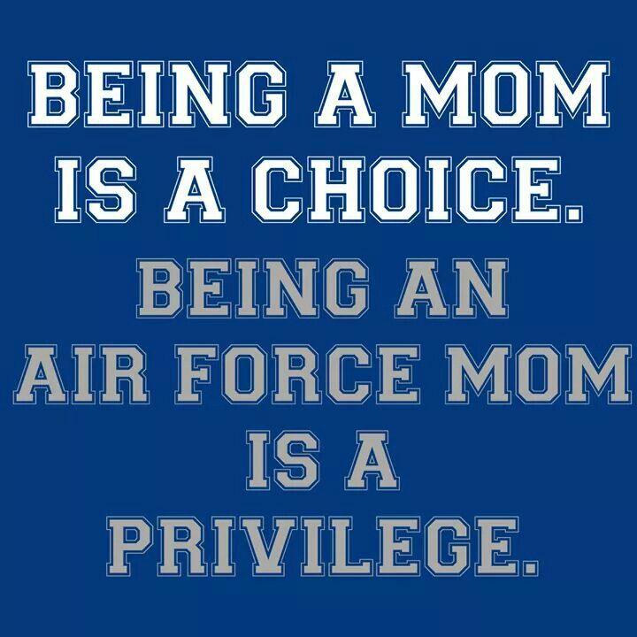 AF Mom is a privilege …