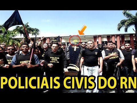 VEJA COMO TERMINOU A GREVE DE POLICIAIS CIVIS RN NO BRASIL A LINGUIÇA COME O CACHORRO.