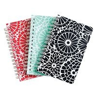 On a hunt for cute notebooks. Avery for the win. Spiral notebook adds a touch of style to everyday note taking