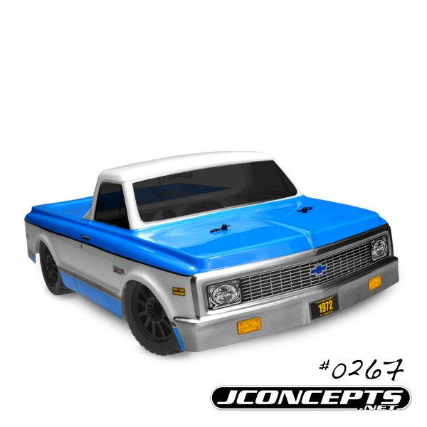 1972 Chevy C10-slash 4x4 Scalpel Speed Run Body-requires #2173 Jc Bumper Conversion Kit                                                                                                                                                     More