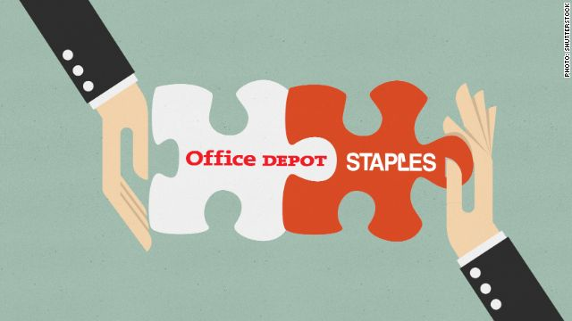 Staples to buy Office Depot February 04