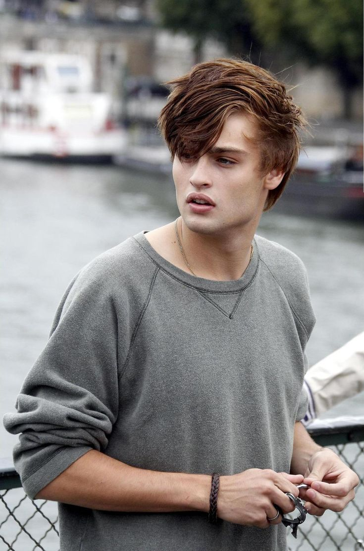 Douglas Booth as Fenrin Grace. I don't know this British actor that well, but yowser he's beautiful