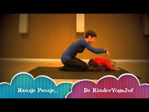 ▶ De KinderYogaJuf - Hansje pansje kevertje - YouTube