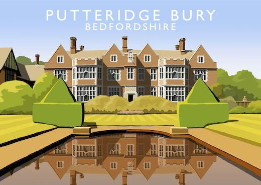Putteridge Bury Art Print