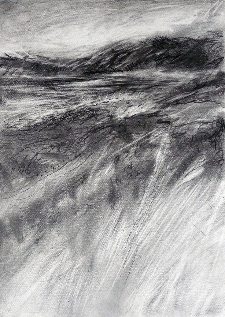 Light and shadow drawing by Helena Emmans