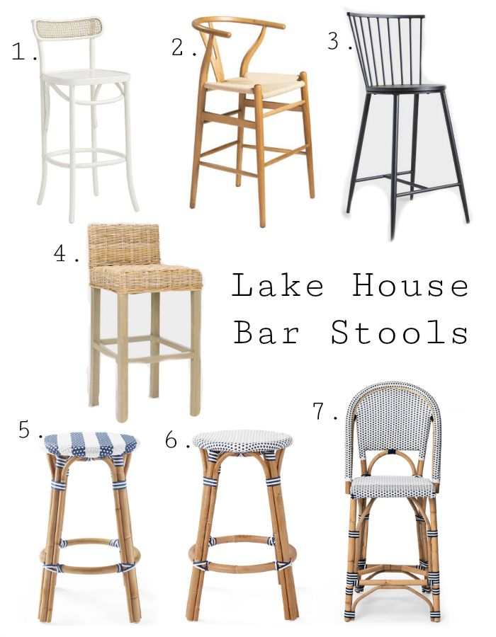 Best Lake House Bar Stools The Lilypad Cottage Bar Stools Bars For Home Cool Bar Stools