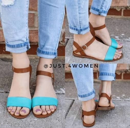 6ecf032f25ea44 Strappy summer sandals – Just Trendy Girls