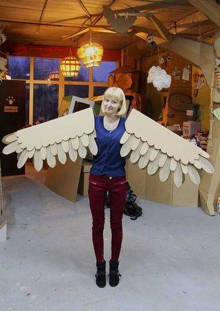 cardboardia06. Cardboard wings :)