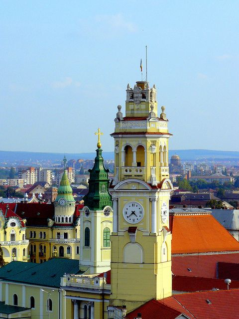 My home away from home. Oradea, Romania - I've been here, a beautiful city and amazing people!