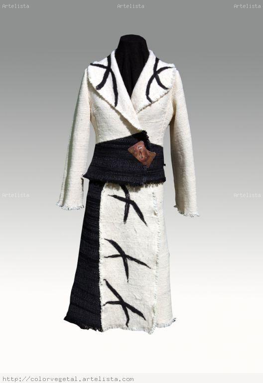 vestuario telar mapuche