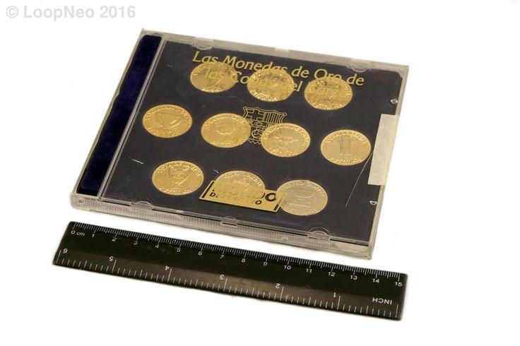 Las monedas de oro de las copas del Barça bañados en oro de 24K - F.C.B - 262260477782  http://r.ebay.com/1k7qCx vía @eBay @petitsencants  #ebay #loopneo #loopneostudio #Oddities #Antiques #retro #Vintage #ecommerce #petitsencants #barça #FCB #barcelona #messi #futbol