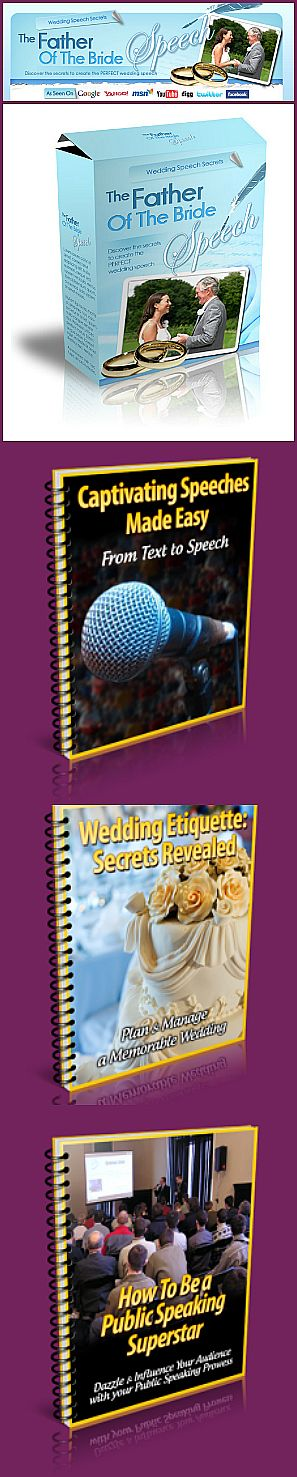 A Step By Guide To Write Your Own Unique Father Of The Bride Speech
