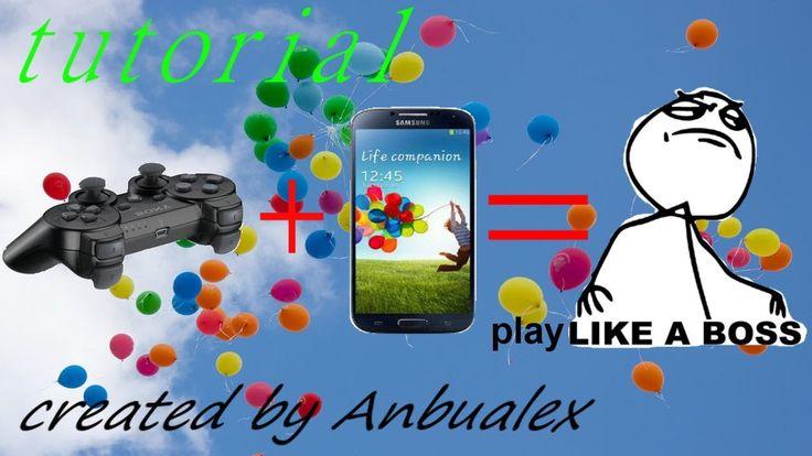 TUTORIAL-joystick ps3 su android s4 senza permessi di root, metodo sempl...