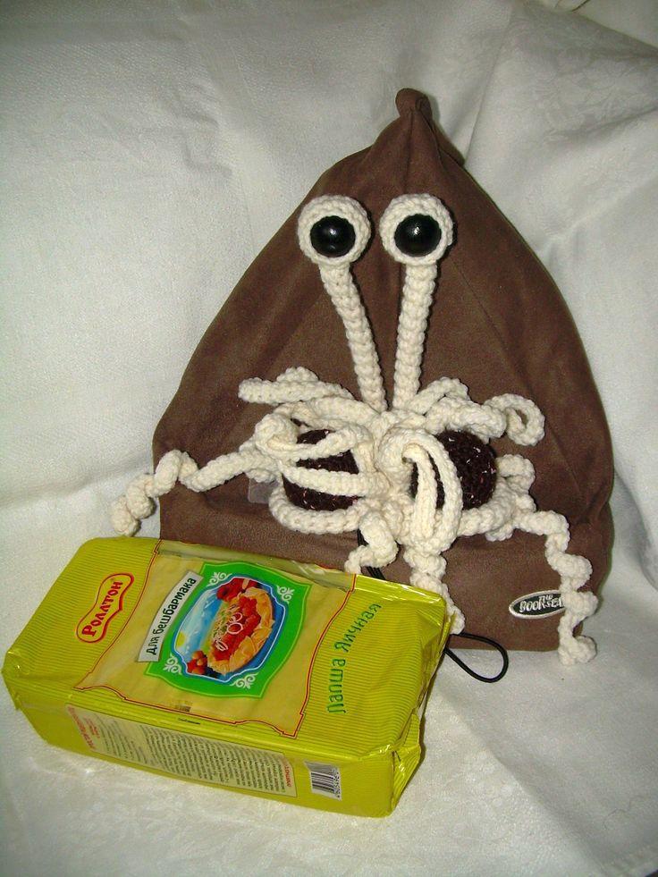 Flying Spaghetti Monster - Летающий макаронный монстр -Пастомонстр