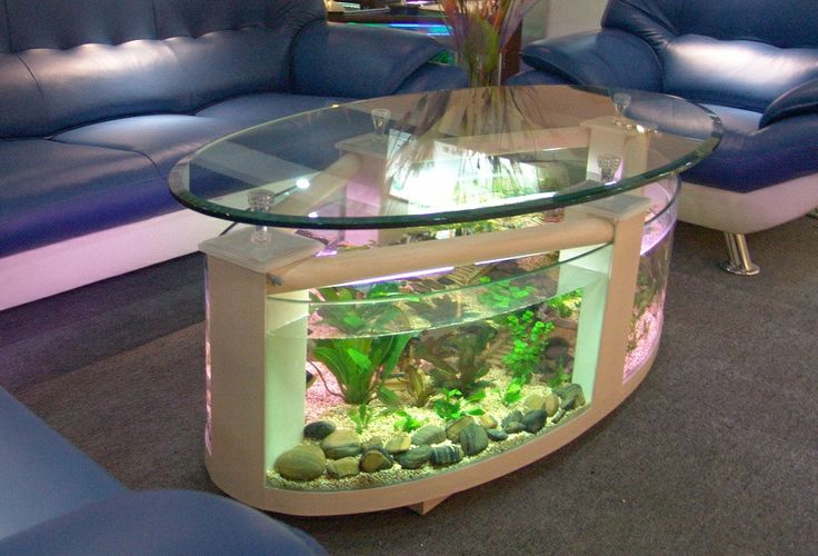 Creative Coffee Table ...  Have you thought about how would look such a table in your living room?