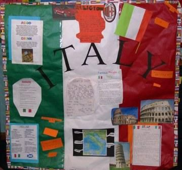Country bulletin board