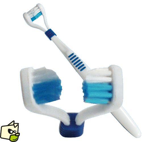BROSSEà dents BILATERALE pour chien