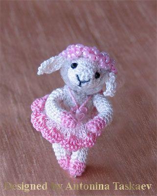 Little Lamb balerina by ~lovebiser on deviantART. DIY