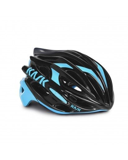 8ff557c34 KASK Mojito Black Blue Medium - Its light weight and super ventilation  meant Mojito was the helmet of choice for Team Sky s high performance  riding over ...