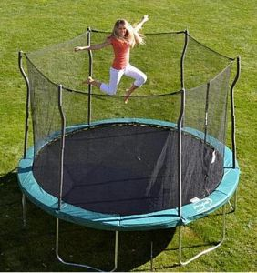 12-Foot, Enclosed Trampoline for Just $199 at Kmart Cyber Monday Sale