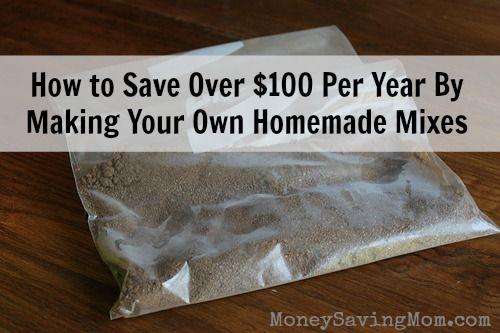 Make Your Own Homemade Mixes
