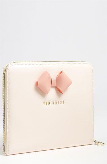 Ted Baker London 'Bow' iPad Sleeve. Love it, so cute!!!!