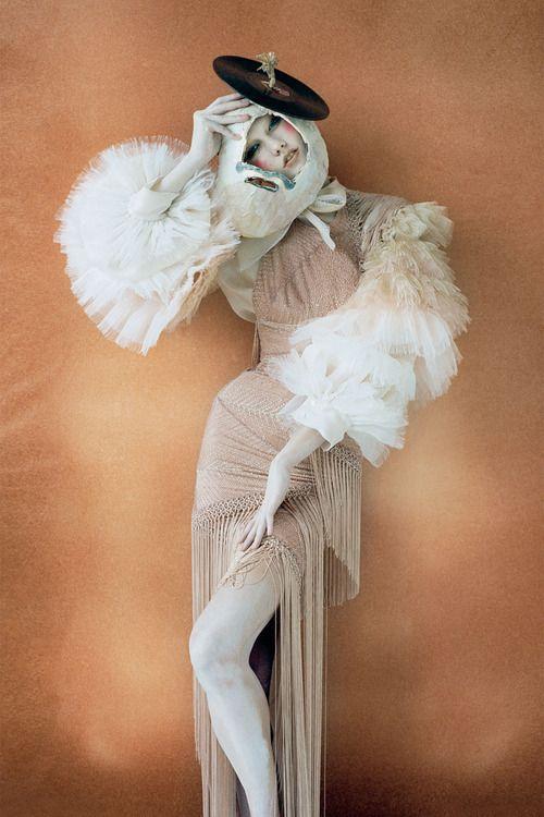 x: Karliekloss, Karlie Kloss, Russian Dolls, Atelier Versace, October 2010, Vogue Uk, Timwalker, Tim Walker, Fashion Photography