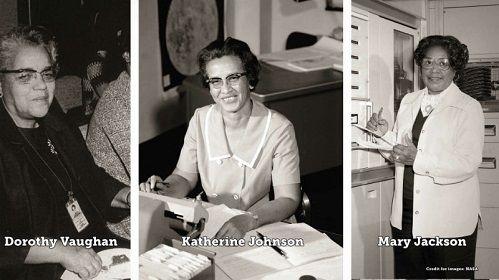 Tres mujeres afroamericanas que hicieron posible la llegada del hombre a la luna En este día internacional de la mujer, reivindicamos las figuras de tres mujeres: Katherine Johnson, Dorothy Vaughan y Mary Jackson.