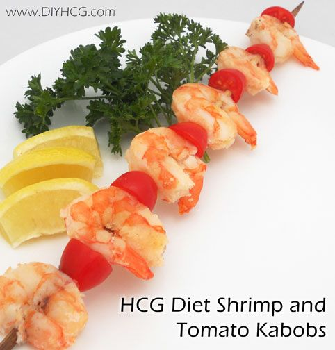 HCG Diet Shrimp and Tomato Kabobs check it out here... www.diyhcg.com