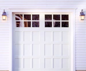 Garage Doors \ love this style!  And...yet...like...why am I pinning a picture of garage doors? When am I gonna be in the market for garage doors?