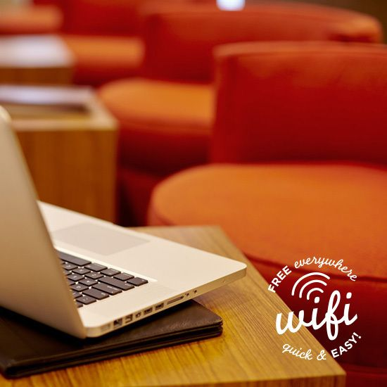 It's easy to stay connected with free Wi-Fi and remote printing. All a part of your stay at Hyatt Place hotels.