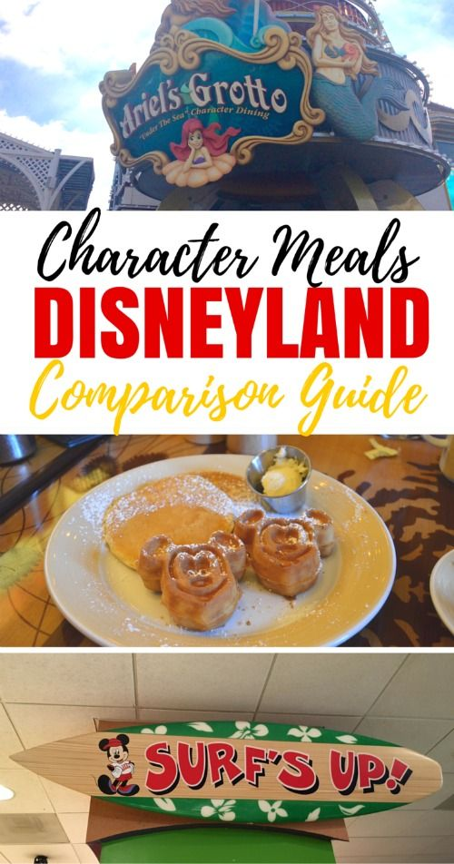 Want to dine with Mickey and pals on your next Disneyland vacation? Get the scoop on all 5 Disneyland character meals from a mom and frequent Disneyland visitor who has tried them all!