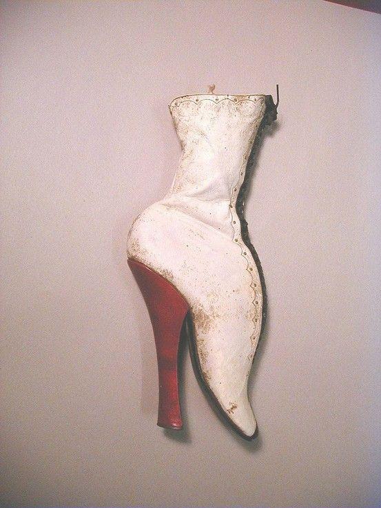 antique fetish heels