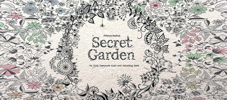 Free And Printable Secret Garden Coloring Book In Pdf Secret Garden Coloring Book Coloring Books Gardens Coloring Book
