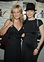 Bebe Neuwirth and Amy Carlson at an event for The Aristocrats (2005)