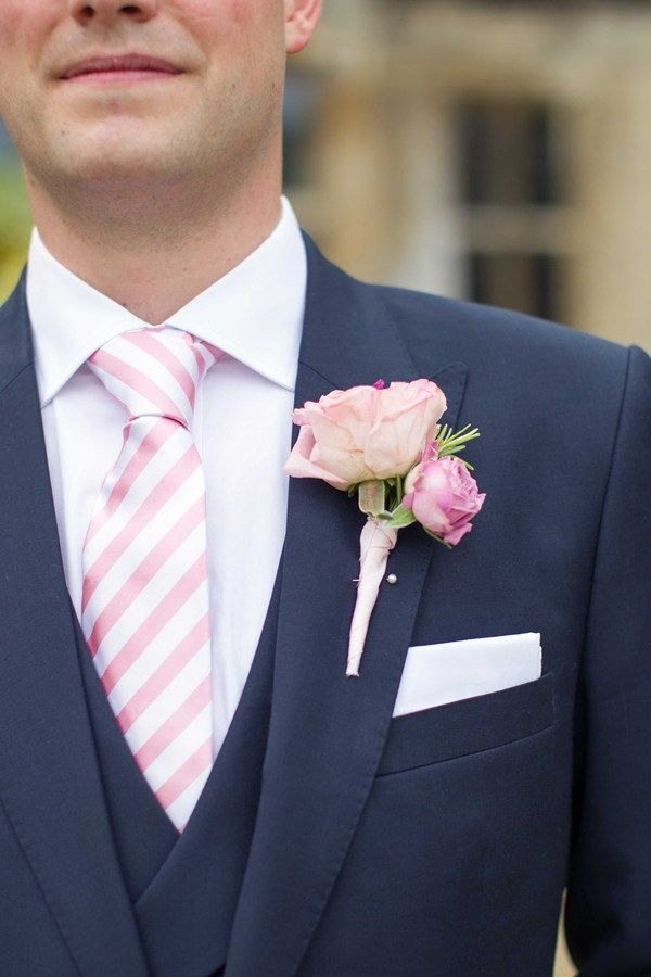 Real wedding: three-piece suit from Apsley Tailors and a tie from TM Lewin
