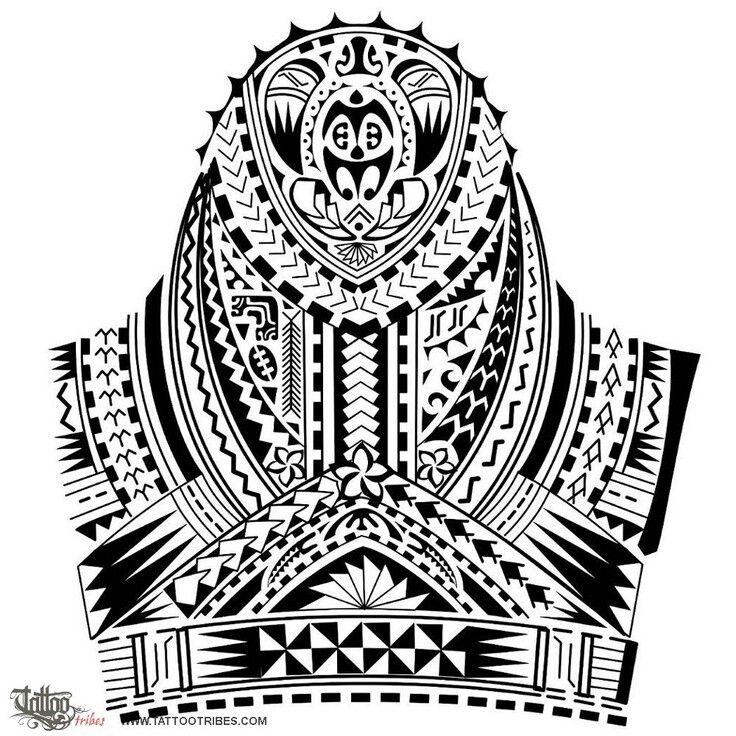 Tatto design Polinesia