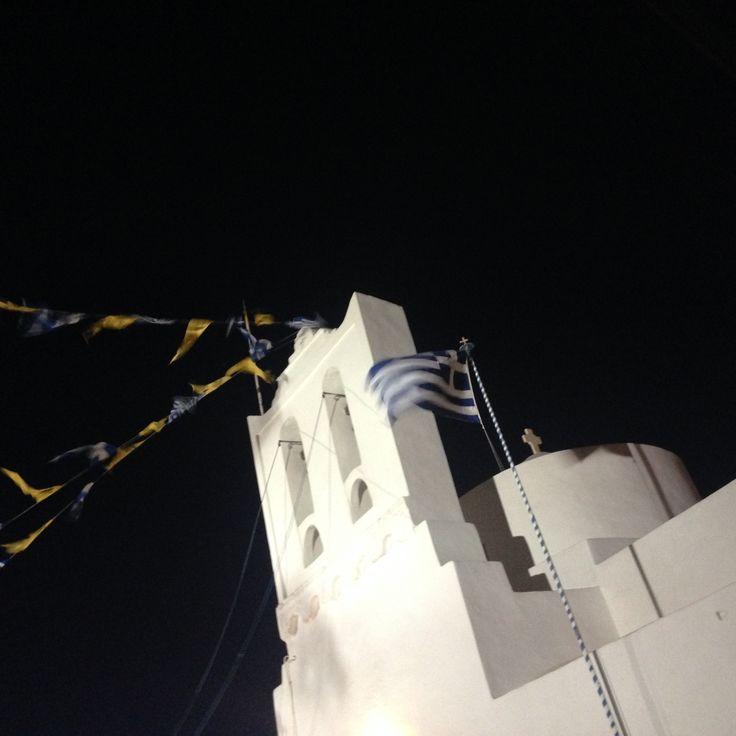 Augoust fest in Sifnos island