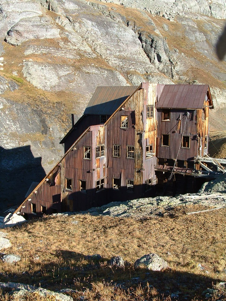 The Lewis Mill in Bridal Veil Basin!  above Telluride Colorado.