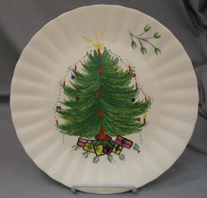 Blue Ridge Christmas Plate & 208 best BLUE RIDGE images on Pinterest   Blue ridge Dinner ware ...