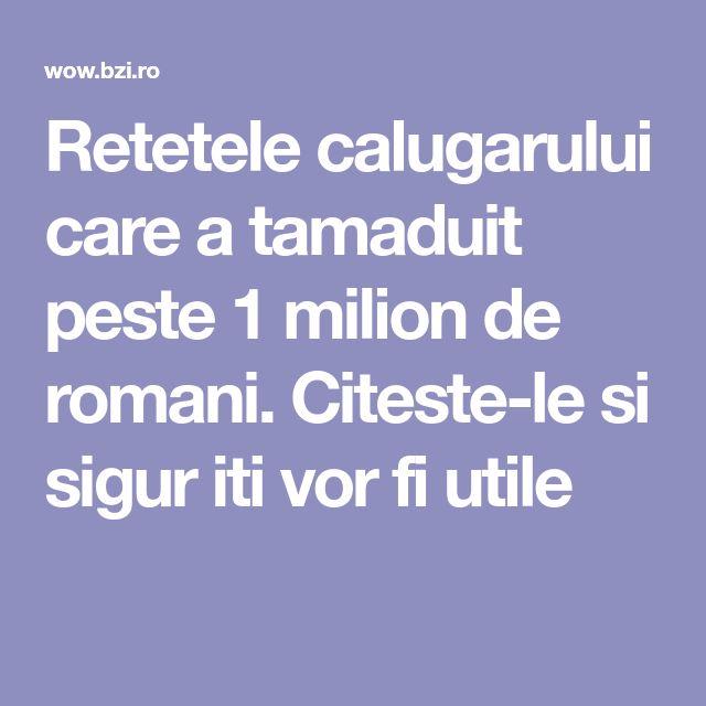 Retetele calugarului care a tamaduit peste 1 milion de romani. Citeste-le si sigur iti vor fi utile
