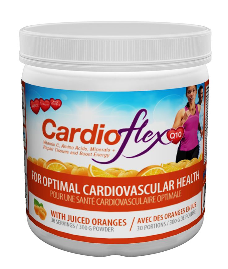 CardioFlex Q10 now comes in a brand new Orange Flavour! Get it at a health food store near you!