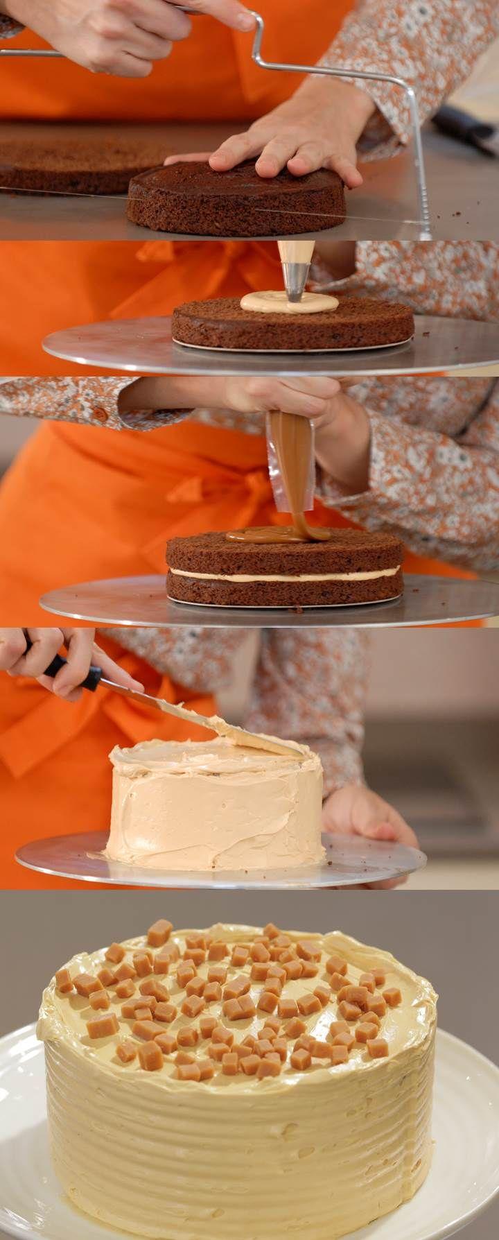 Cupcake Maniacs 11: Tarta chocolate y dulce de leche