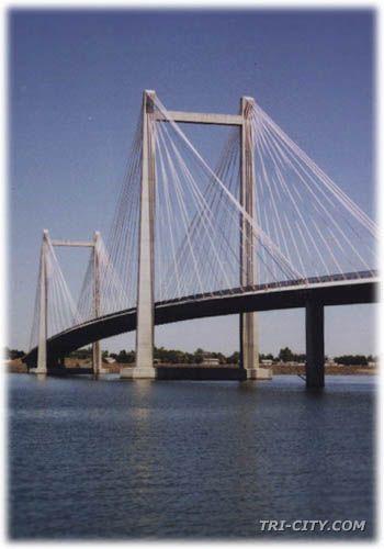 The Cable Bridge ~ Tri-City area ~ WA