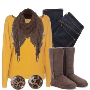 Love this look for fall. May try something similar, since I have a pair of tan boots like these ones.